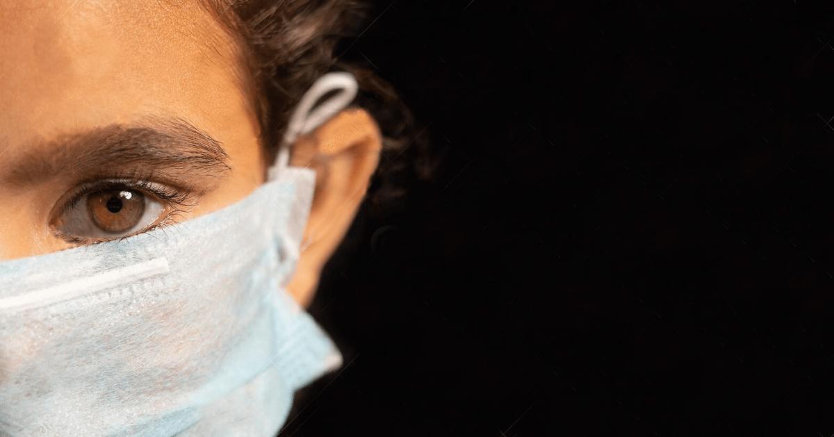 Ist eine Maske, die Mund und Nase bedeckt, frei von unerwünschten Nebenwirkungen und von Gesundheitsrisiken?