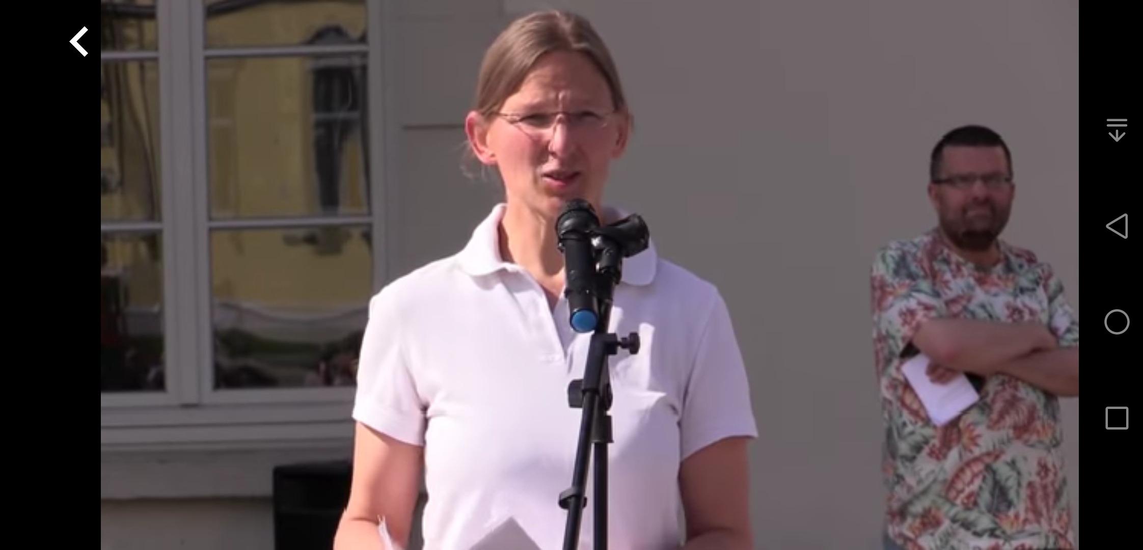 Dr. med Katrin Korb – Corona und das Gesundheitssystem der Angsterzeugung